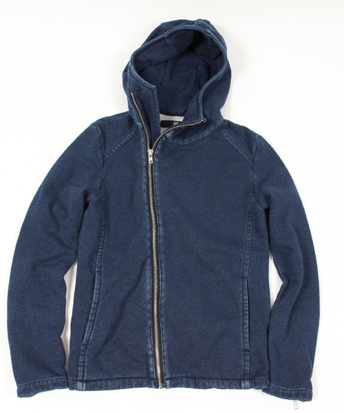 【CAMBIO(カンビオ)】Knit Denim Hooded Riders Jacket ジャケット