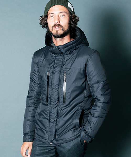 【Magine(マージン)】NYLON HOOD SWITCHING TACTICAL DOWN JKT ダウンジャケット(1834-42)