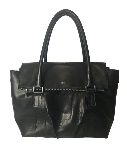 【DECADE(ディケイド)】Duals Leather Mini Boston Tote Bag バッグ(DCD-01083)