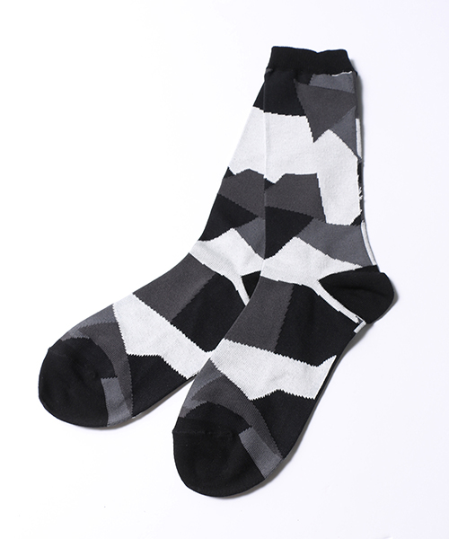 【ANSEASON ANREALAGE】patchwork socks ソックス(18sasac07)