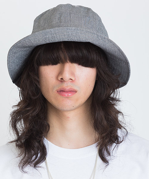 【VICTIM(ヴィクティム)】VICTIM × CA4LA BIG CHECK HAT ハット