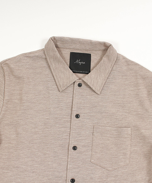 【Magine(マージン)】1712-315AN-Magine×ANGENEHM Vintage Like 3/4 Sleeve Cut Shirts カットソーシャツ(MADE IN JAPAN)